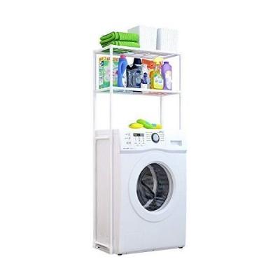 ランドリーラック 洗濯機ラック おしゃれ 収納 洗濯機 ランドリーラック 収納ラック 北欧 洗濯棚 シンプル ホ?