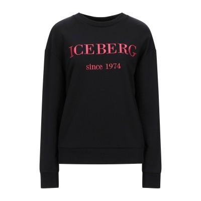 アイスバーグ ICEBERG スウェットシャツ ブラック 38 コットン 90% / ポリエステル 10% スウェットシャツ