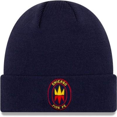 ニューエラ メンズ 帽子 アクセサリー Chicago Fire New Era Cuffed Knit Hat