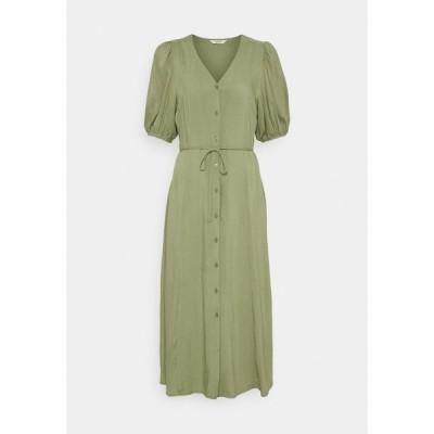ビーヤング ワンピース レディース トップス JOELLA MIDI DRESS  - Day dress - oil green