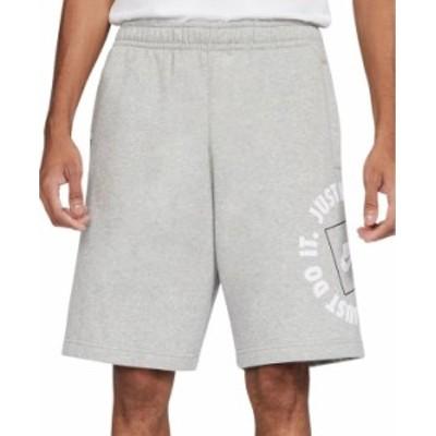 ナイキ メンズ ハーフパンツ・ショーツ ボトムス Men's Sportswear JDI Fleece Shorts Dark Grey Heather/Grey