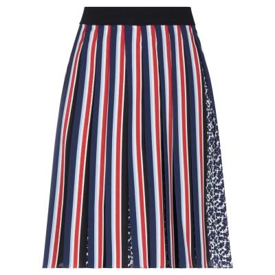 SPORTMAX CODE ひざ丈スカート レッド 42 ポリエステル 100% ひざ丈スカート
