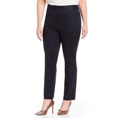ヴィンスカムート レディース カジュアルパンツ ボトムス Plus Size Front Zip Pant