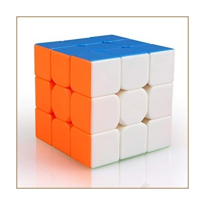 Qiyi Warrior S Speed Cube 3x3-(Qiyi Warrior W Updated Version)- Stickerless Magic Cube 3x3x3 Puzzles Toys, The Most Educational Toy to Effec