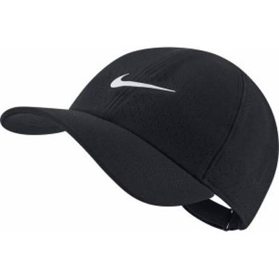 ナイキ メンズ 帽子 アクセサリー Nike Men's NikeCourt Advantage Tennis Hat Black