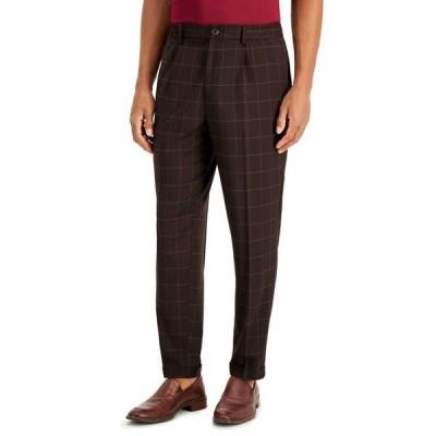 タッソエルバ メンズ カジュアルパンツ ボトムス Men's Box-Checked Pants