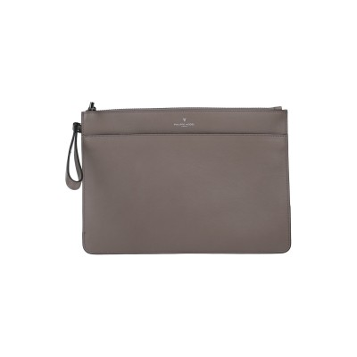 フィリップ モデル PHILIPPE MODEL ハンドバッグ 鉛色 革 ハンドバッグ