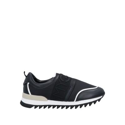 MY GREY スニーカー&テニスシューズ(ローカット) ブラック 36 紡績繊維 スニーカー&テニスシューズ(ローカット)