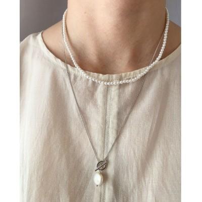 wears / 2セットパール淡水1粒ネックレス WOMEN アクセサリー > ネックレス
