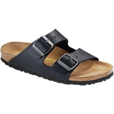 ビルケンシュトック サンダル レディース シューズ Arizona Leather Sandal - Women's Black Oiled Leather
