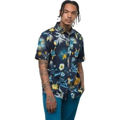 ヴァンズ Vans メンズ 半袖シャツ トップス Califas Short-Sleeve Shirt Dress Blues/Califas