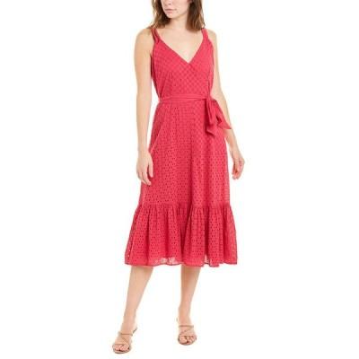 エクリュ ワンピース トップス レディース ecru The Cotillard Wrap Dress berry
