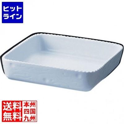 ロイヤル 正角型グラタン皿 ホワイト PB600-25 RLI30