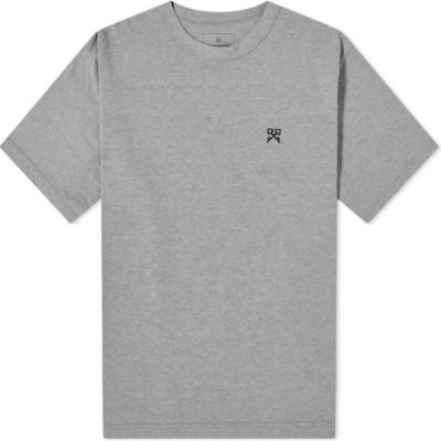 ユニフォームエクスペリメント Uniform Experiment メンズ Tシャツ トップス Authentic Tee Grey