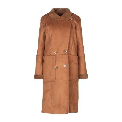 VILA コート ブラウン 36 ポリエステル 100% コート