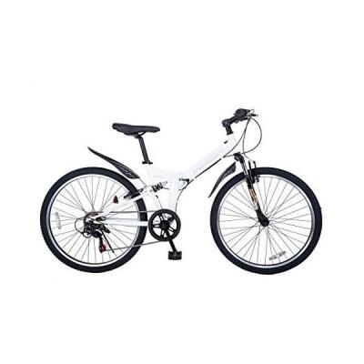 21Technology 折り畳み マウンテンバイク (26インチ) 6段変速付き 自転車 シティサイクル 街乗り 通勤 通学 スポーツ M