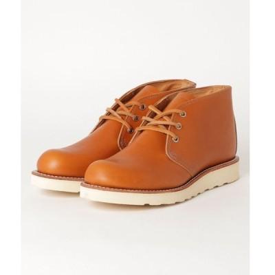 ブーツ RED WING レッドウィング IRISH SETTER CHUKKA メンズブーツ(アイリッシュセッターチャッカ) 9853 ゴールドラセ