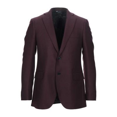 TOMBOLINI テーラードジャケット ボルドー 56 バージンウール 100% テーラードジャケット