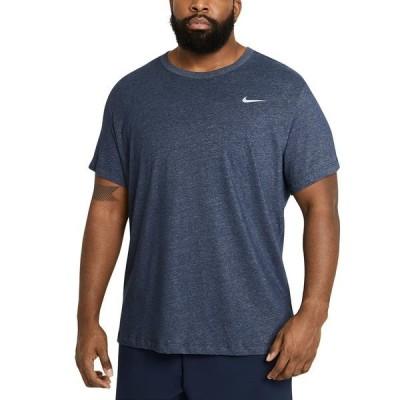 ナイキ Tシャツ トップス メンズ Men's Big & Tall Dri-FIT Logo Training T-Shirt Obsidian