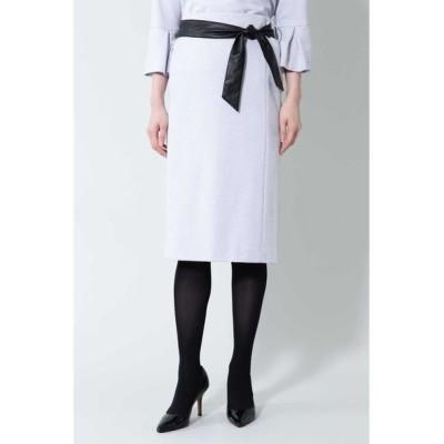 BOSCH/ボッシュ 《B ability》ヘリンボーンジャージセットアップスカート パープルヘリンボーン1 34