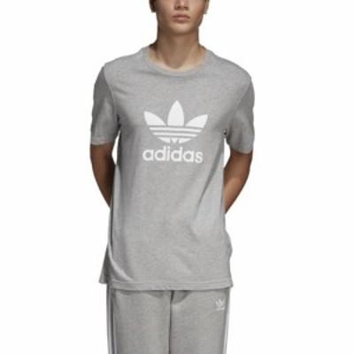 (取寄)アディダス メンズ オリジナルス トレフォイル TシャツMen's adidas Originals Trefoil T-Shirt Medium Grey Heather