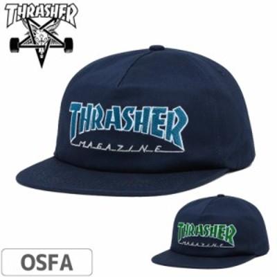 スラッシャー THRASHER キャップ US規格 OUTLINED SNAPBACK CAP NO44