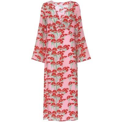 ベルナデッタ Bernadette レディース ワンピース マキシ丈 ワンピース・ドレス Sarah floral silk maxi dress Daisy Red/Pink