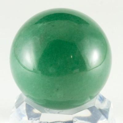 【天然石 置き石】丸玉 約30mm アベンチュリン ※ネコポス不可※ パワーストーン