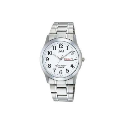 シチズン CITIZEN Q&Q ステンレスモデル アナログ腕時計 W472-204