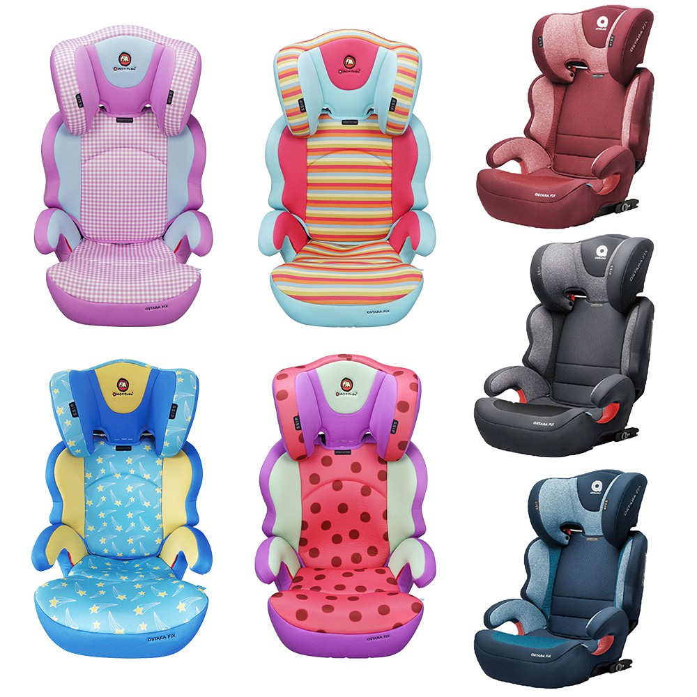APRAMO OSTARA FIX汽車座椅 送保護墊及防踢墊 ISOFIX汽座 [團購價現貨] 免運宅配到府