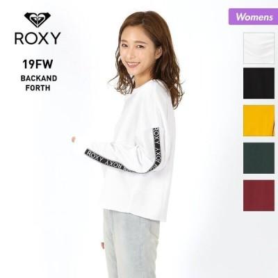 ROXY/ロキシー レディース トレーナー 長袖 トップス ショート丈 RLT194033
