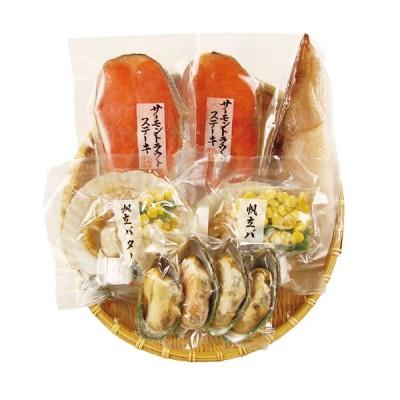 北海道 グルメ|小樽海洋水産 海鮮焼き詰合せ|送料無料|代引不可