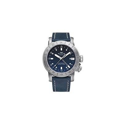 Glycine Airman Mens Analog Automatic Watch with Leather Bracelet GL0060 並行輸入品