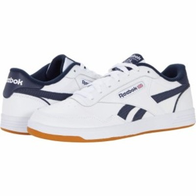 リーボック Reebok メンズ スニーカー シューズ・靴 Club Memt White/Vector Navy/Reebok Rubber Gum