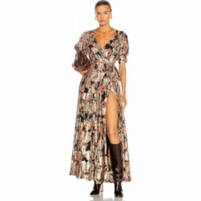 ヘマントandナンディータ HEMANT AND NANDITA レディース ワンピース ワンピース・ドレス sion cape dress Somber