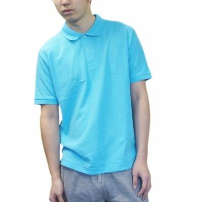 ユナイテッドアスレ 販売NO1 ポロシャツ 最強3機能装備 UVカット 吸水速乾 消臭 ブルーXSからXXXXL展開レディースからキングサイズまで