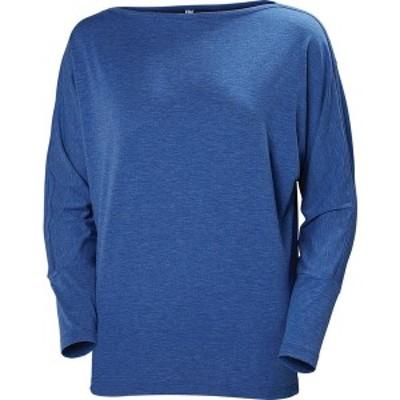 ヘリーハンセン レディース シャツ トップス Thalia Long Sleeve Shirt Olympian Blue Melange