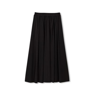 【撥水・UVケア・ストレッチ】ミッドタウンギャザースカート