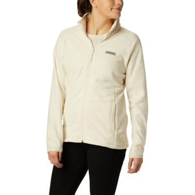 コロンビア Columbia レディース フリース トップス Basin Trail Full-Zip Fleece Chalk