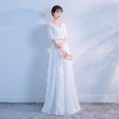 ロングドレス 二次会 イブニングドレス 演奏会 Long dress ドレス ファスナー 二次会 花嫁 結婚式 ウェディングドレス