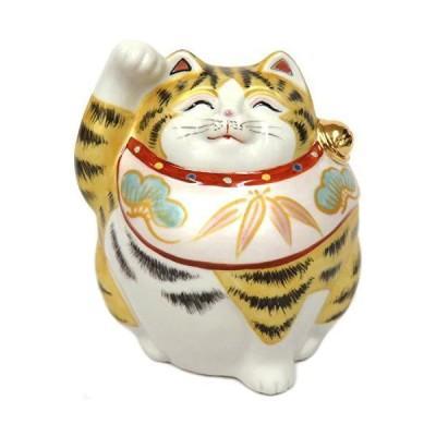 開運 置物 九谷焼 福々招き猫 金彩 陶器 商売繁盛 アイテム 風水 グッズ