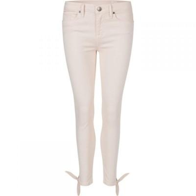 トミー ヒルフィガー Tommy Hilfiger レディース ジーンズ・デニム ボトムス・パンツ Como Ankle Bow Jeans Cream