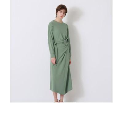 カットソー ツイスト ドレス