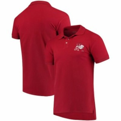 Original Retro Brand オリジナル レトロ ブランド スポーツ用品  Original Retro Brand Arkansas Razorbacks Red Collegiate Pique Polo