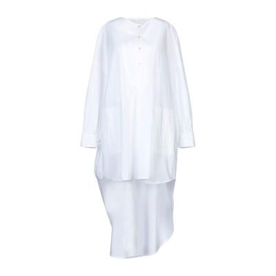 ゴールデン グース GOLDEN GOOSE DELUXE BRAND ミニワンピース&ドレス ホワイト XS コットン 100% ミニワンピース&