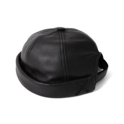 BETON CIRE ベトンシレ MIKI ミキ レザー セーラーハット 帽子 キャップ メンズ レディース