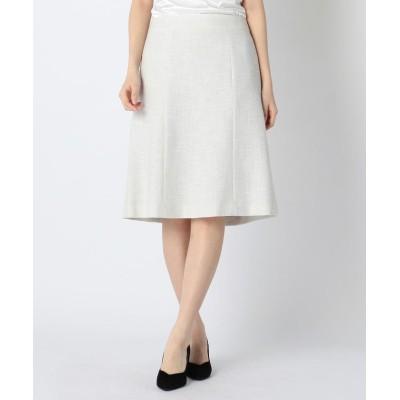 【ミューズ リファインド クローズ】 MIXツイードスカート レディース グレー M MEW'S REFINED CLOTHES