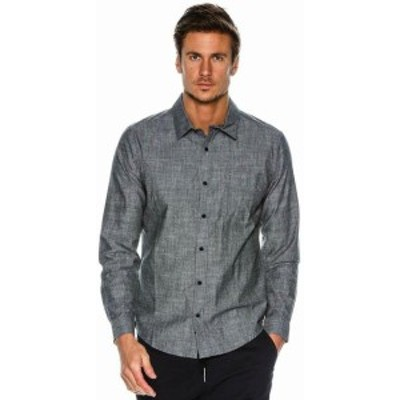 Hurley ハーレー ファッション アウター Hurley Mens One and Only 3.0 Button Front Long Sleeve Shirt
