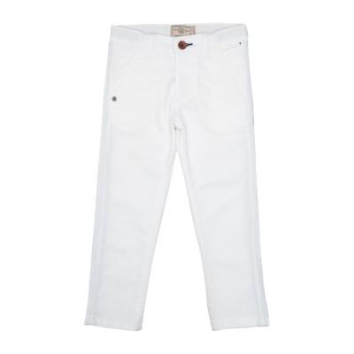 チェザレ パチョッティ CESARE PACIOTTI パンツ ホワイト 4 コットン 98% / ポリウレタン 2% パンツ