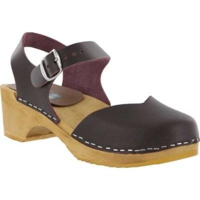 ミア サンダル シューズ レディース Sofia Closed Toe Sandal (Women's) Wine Italian Leather